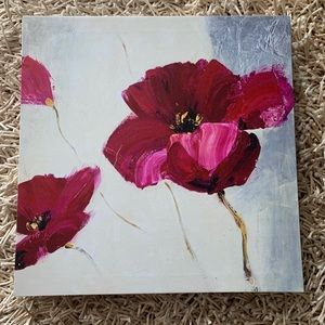 Other - 2/$25 Stunning Poppy Flowers Theme Frame